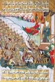 The Battle of Badr (Arabic: غزوة بدر), fought Saturday, March 13, 624 AD (17 Ramadan, 2 AH in the Islamic calendar) in the Hejaz region of western Arabia (present-day Saudi Arabia), was a key battle in the early days of Islam and a turning point in Muhammad's struggle with his opponents among the Quraish in Mecca. The battle has been passed down in Islamic history as a decisive victory attributable to divine intervention, or by secular sources to the strategic genius of Muhammad. It is one of the few battles specifically mentioned in the Qur'an. Most contemporary knowledge of the battle at Badr comes from traditional Islamic accounts, both hadiths and biographies of Muhammad, recorded in written form some time after the battle.<br/><br/>  Prior to the battle, the Muslims and Meccans had fought several smaller skirmishes in late 623 and early 624, as the Muslim ghazawāt (prophet-led battles) had become more frequent. Badr, however, was the first large-scale engagement between the two forces. Advancing to a strong defensive position, Muhammad's well-disciplined force broke the Meccan lines, killing several important Quraishi leaders including Muhammad's chief antagonist, 'Amr ibn Hishām. For the early Muslims the battle was the first sign that they might eventually defeat their enemies among the Meccans. Mecca at that time was one of the richest and most powerful cities in Arabia, fielding an army three times larger than that of the Muslims. The Muslim victory also signalled to other tribes that a new power had arisen in Arabia and strengthened Muhammad's position as leader of the often fractious community in Medina.